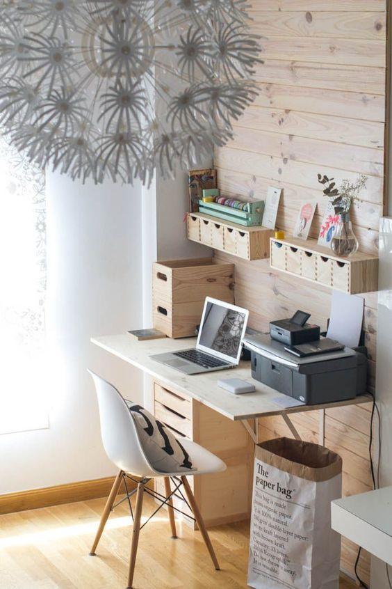 espacio de trabajo en casa